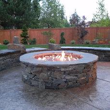 Contemporary Patio by Sublime Garden Design, LLC