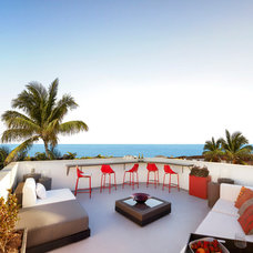 Tropical Patio by Dupuis Design