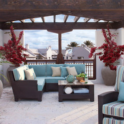 San Diego Outdoor Furniture - Tybee Collection by Souhtern Living