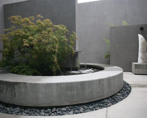 Concrete Fountain Houzz