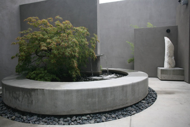 Contemporary Patio by Kikuchi + Kankel Design Group
