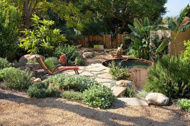 Rustic Landscape by Margie Grace - Grace Design Associates