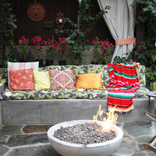 Eclectic Patio by Design Vidal
