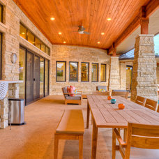 Traditional Patio by Design Visions of Austin