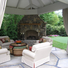 Traditional Patio by Joe A. Gayle & Associates