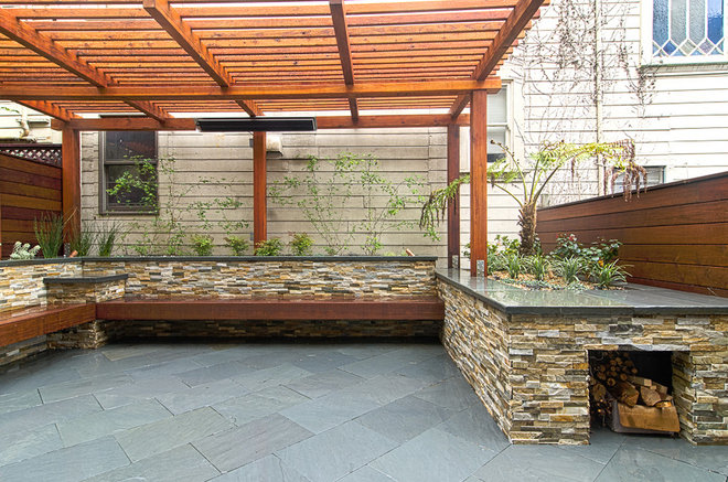 Contemporary Patio by Alex Amend Photography