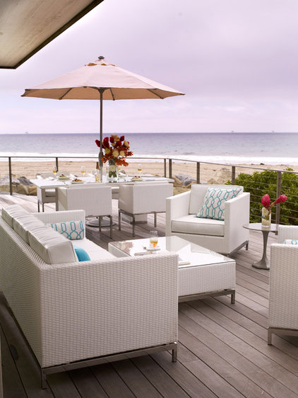 Beach Style Patio by FRONTGATE