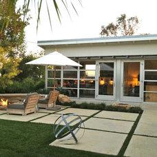 Contemporary Patio Santa Barbara modern