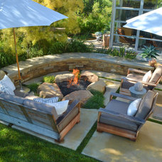 Modern Patio by Jeffrey Gordon Smith Landscape Architecture
