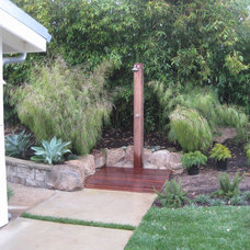Midcentury Patio by Jeffrey Gordon Smith Landscape Architecture