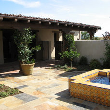 Traditional Patio by Jeffrey Rule, Inc.