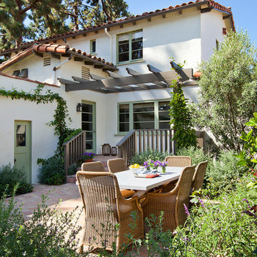 Santa Monica Classic Spanish Colonial Family Home
