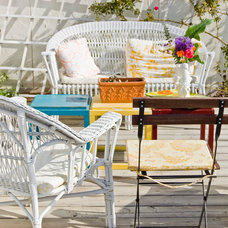 Farmhouse Patio by Going Home To Roost