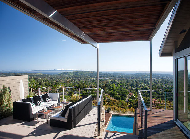 Contemporary Patio by Lori Smyth Design