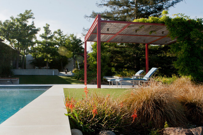 Contemporary Patio by Design Focus Int'l Landscape Architecture & Build