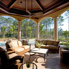 Mediterranean Patio by Sater Design Collection, Inc.