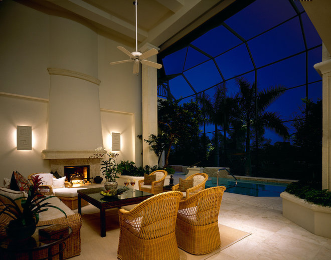 Traditional Patio by Sater Design Collection, Inc.