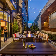 Contemporary Patio by Shapiro Didway