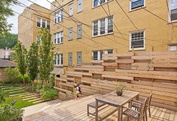 Modern Patio by Vladimir Radutny Architects