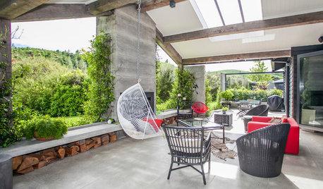 Houzz Новая Зеландия: Дом «второго» дизайна