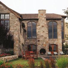 Traditional Patio by Scott Cornelius Architect