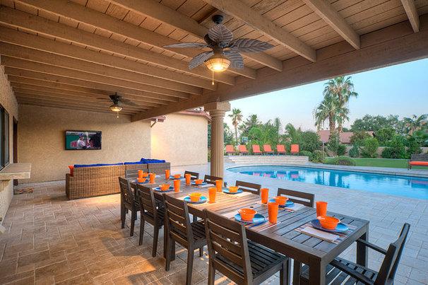 Contemporary Porch by Arizona Dream Vacation