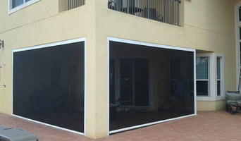 Screen Enclosure With Motorized Walls - St. Augustine, Florida