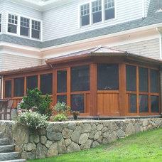 Contemporary Porch by Cabot Building & Design, Inc.