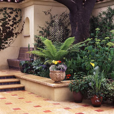Mediterranean Patio by Suzman Design Associates