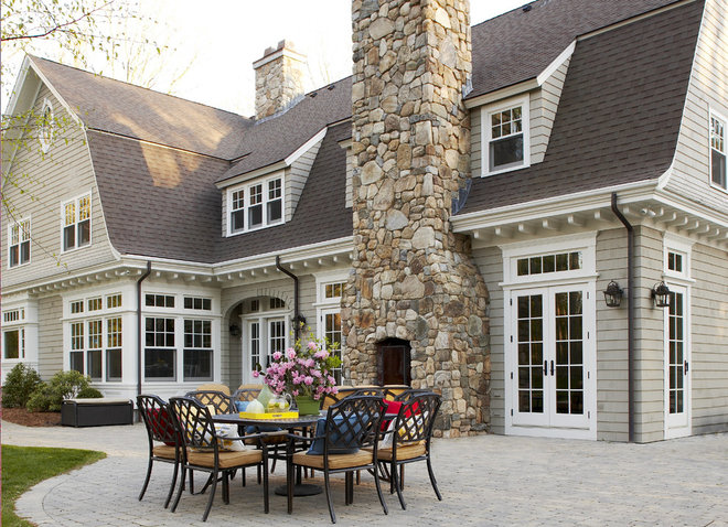 Traditional Patio by Oak Hill Architects