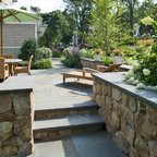 Seaside Hilltop Traditional Patio Boston By Sean