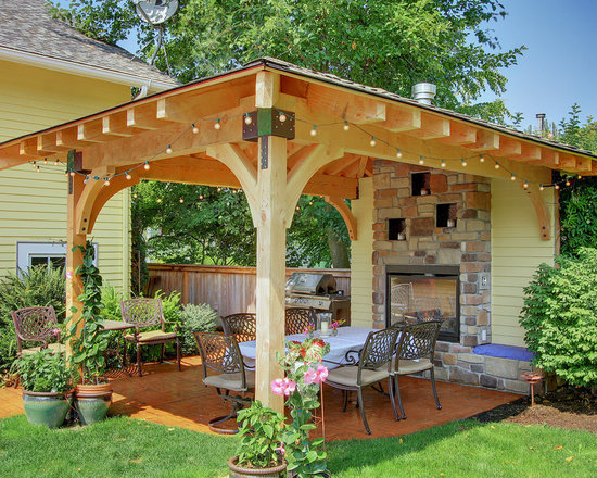 Patio Cover Wood patio cover wood | houzz