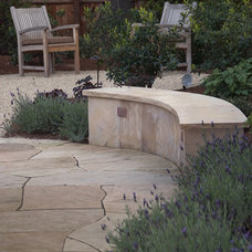 Mediterranean Patio by Verdance Landscape Design