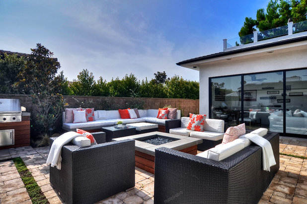 Beach Style Patio by SC Homes