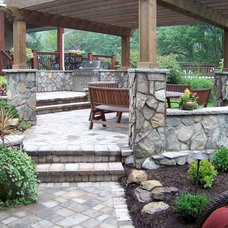 Traditional Patio by The Weidner Group