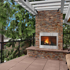 modern patio by Logan's Hammer Building & Renovation