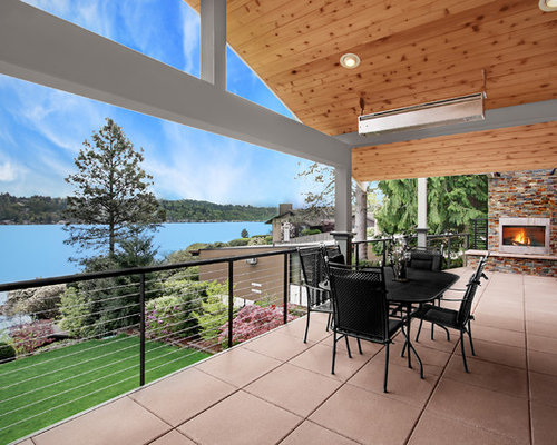 Inspiration For A Modern Patio Remodel In Seattle
