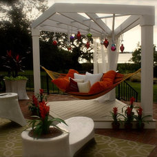 Eclectic Patio by Trade Mark Interiors, Inc.