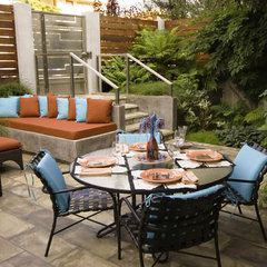 modern patio by Hamilton-Gray Design, Inc.
