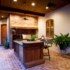 Traditional Patio by Kitchen & Bath Cottage