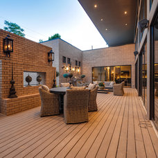 Modern Patio by Classic Urban Homes