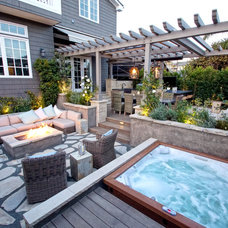 Contemporary Patio by JDS OUTDOOR DESIGNS