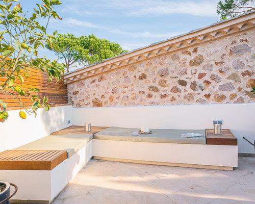 Ideas para patios dise os de patios mediterr neos peque os for Patios exteriores pequenos