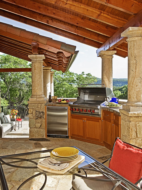 Covered Outdoor Kitchen Design Ideas Remodel Pictures – Outdoor Covered Kitchens