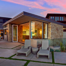 Contemporary Patio by Brian Church Architecture