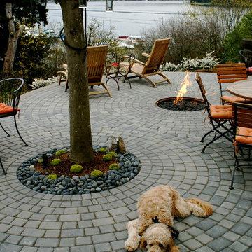 Seward Park patio garden
