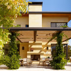 Caterpillar House Contemporary Patio Other By Joni