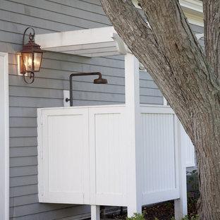 Ispirazione per un patio o portico tradizionale
