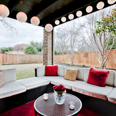 Contemporary Patio by New Leaf Construction
