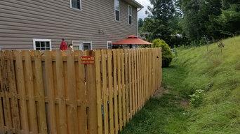 Shadow Box Fence
